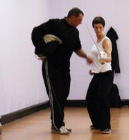 Fencing London coach Dumi
