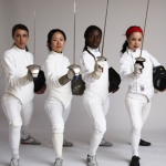 Fencers from London Fencing Club