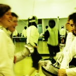Beginners fencing at London Fencing Club