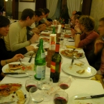 Meal in Siena