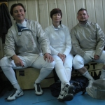 London Fencing: Will, Nadia and Kerim