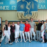 Fencers all