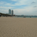Fencing trip to Barceloneta