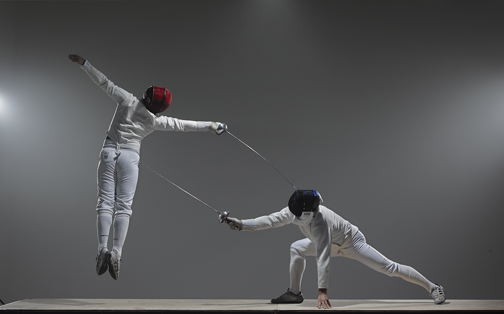 Advanced fencers