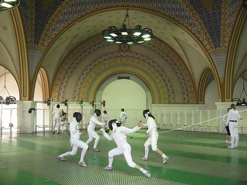 London fencing club trip Budapest Britney