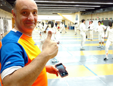 fencing in Bacelona