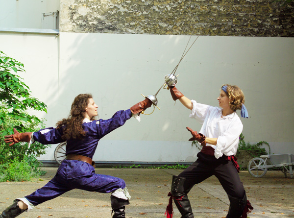 London Fencing Club Parisian holiday: Hit but do not hit