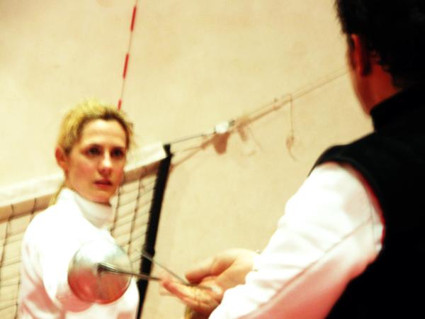 Francesco London Fencing Club trip to Siena Italy