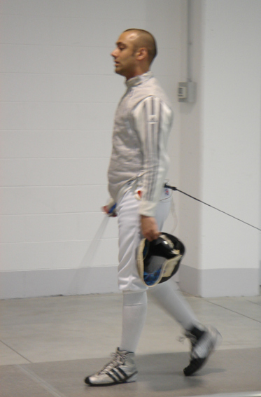 London Fencing Club Italian lakes trip Adeel Iqbal