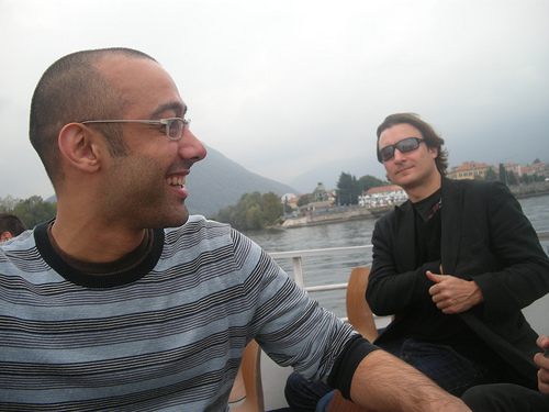 London Fencing Club Italian lakes trip Adeel and Will