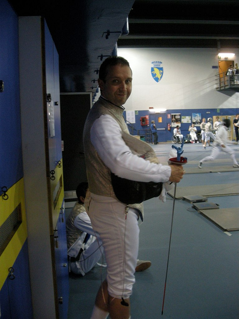 Alan Buckland London Fencing Club Trip to Turin