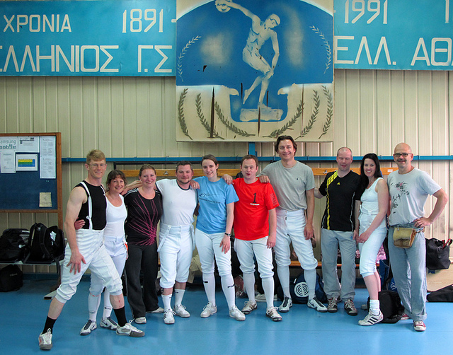 London Fencing Club Trip to Athens 2011