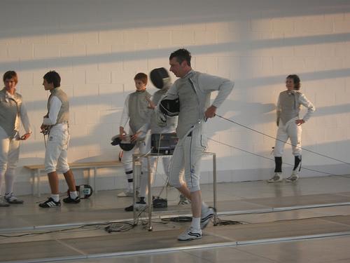 London Fencing Club Italian lakes trip Armando