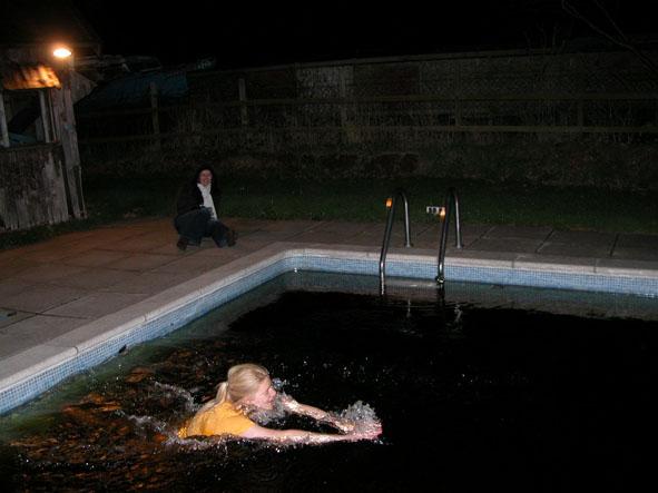 Octavia in water