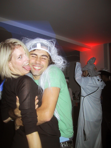 London Fencing Club Halloween Party 2006 hug