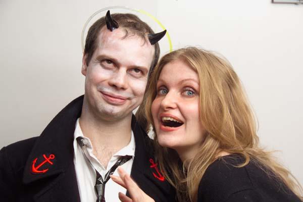 London Fencing Club Halloween Party Olga
