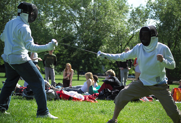 London Fencing picnic
