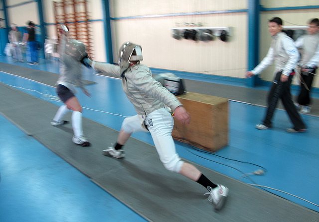 Russell Barker London Fencing Club Trip to Athens 2011