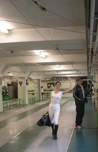 London Fencing Club Italian lakes trip Valeria
