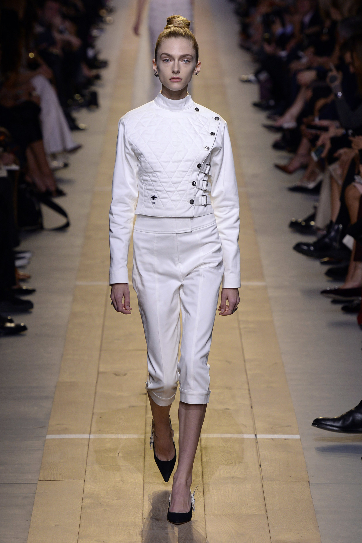 Fencing Inspired Christian Dior Collection Spring 2017