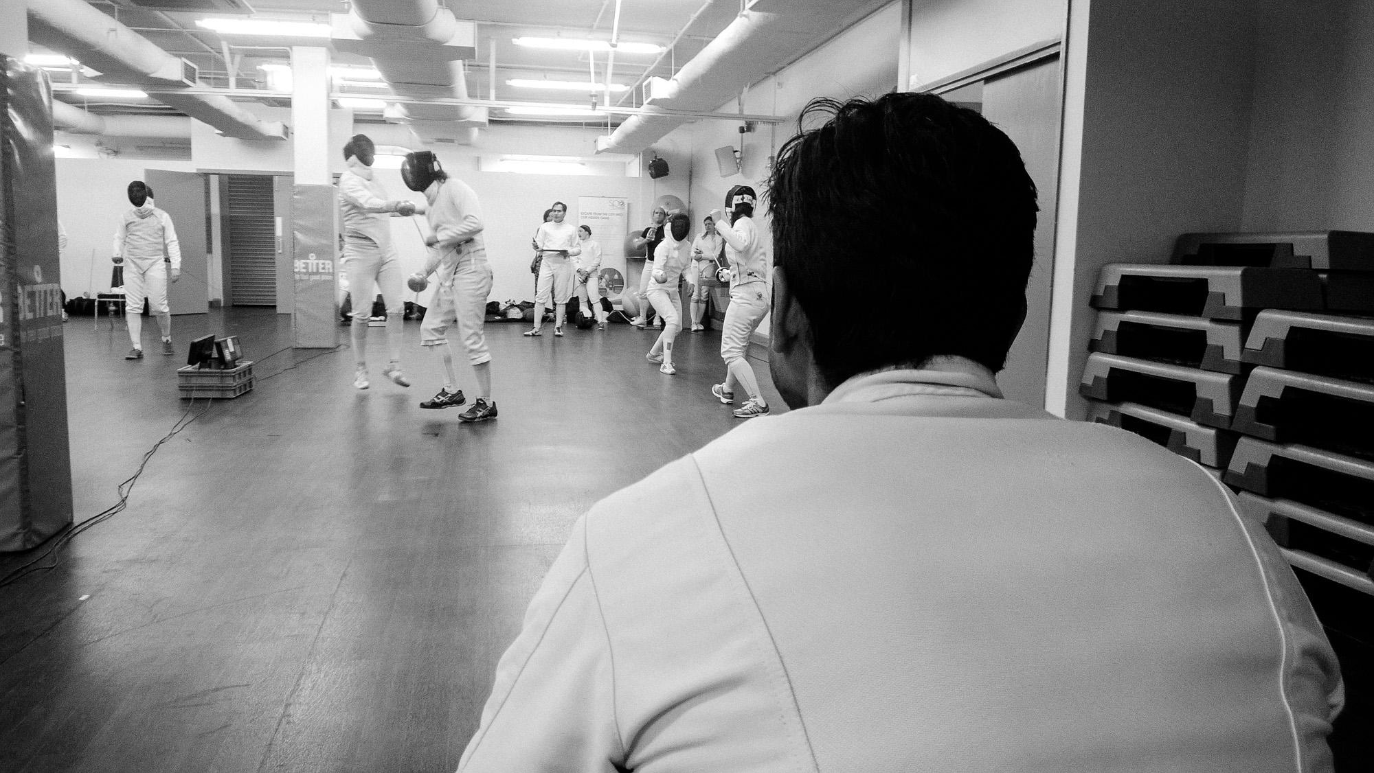Fencing Tournament, London 2016