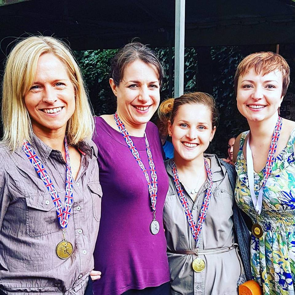 Fencing Tournament Medals, London 2016